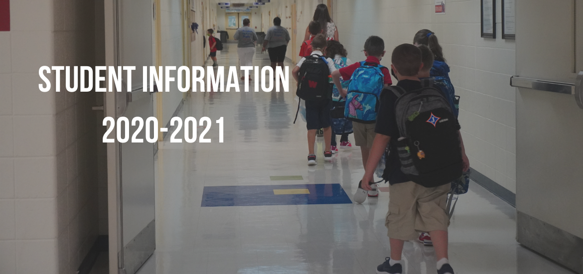 Student Information 2020-2021