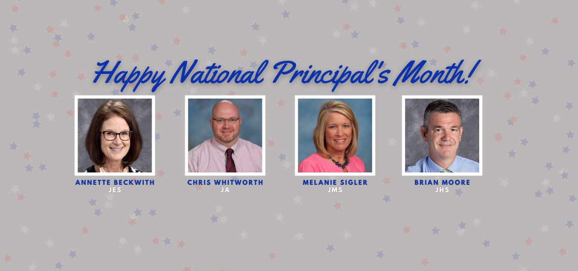 October: National. Principal's Month